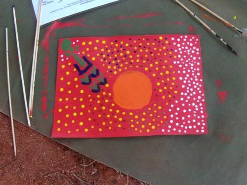 UluruDotPainting1